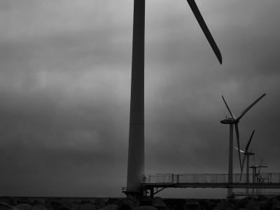 海景 Wind power Part 1. 20170331_3935 Kashimanada