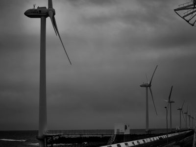 海景 Wind power Part 8. 20170331_4067 Kashimanada