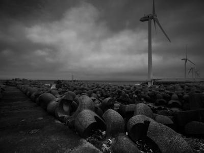 海景 Wind power Part 2. 供花 20170331_8063 Kashimanada
