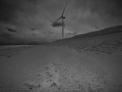 海景 Wind power. Sand power. 20170331_8162 Kashimanada