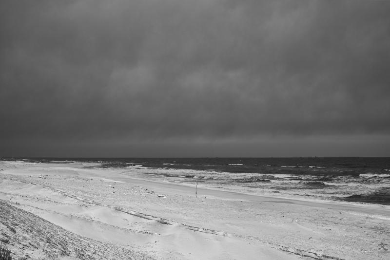 鹿島灘 砂丘 海景