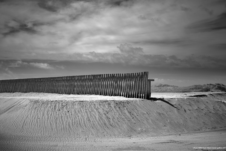 惑星と文明 18-1 時間は砂となって降り積もる 千葉 南房総 根本海水浴場