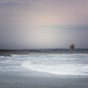 Past Light 20-012 朝焼けの荒ぶる海
