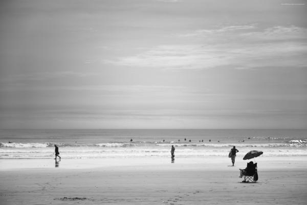 海景 20-008 渚にて / On the beach
