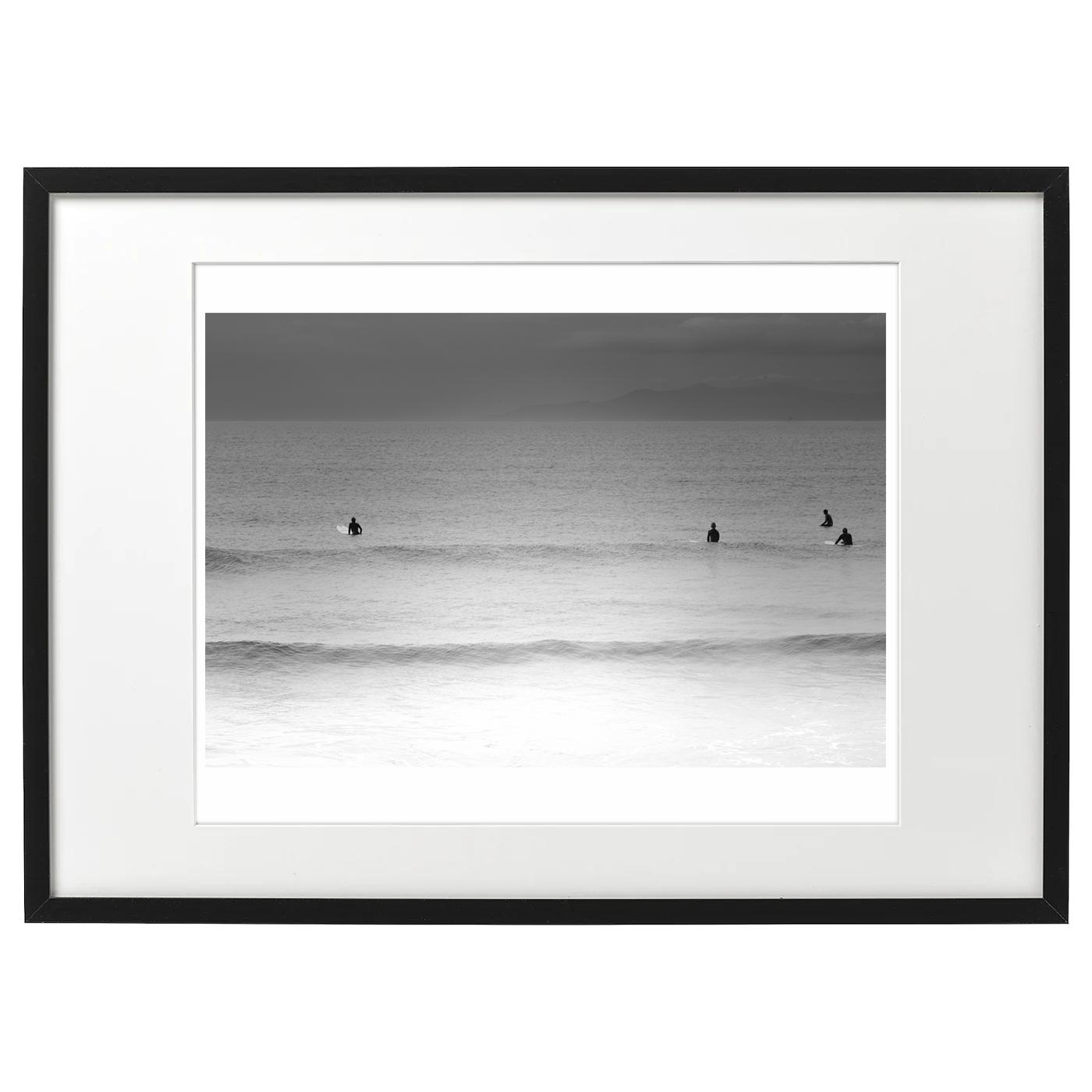 フレーム海景 20-025 波を待つ
