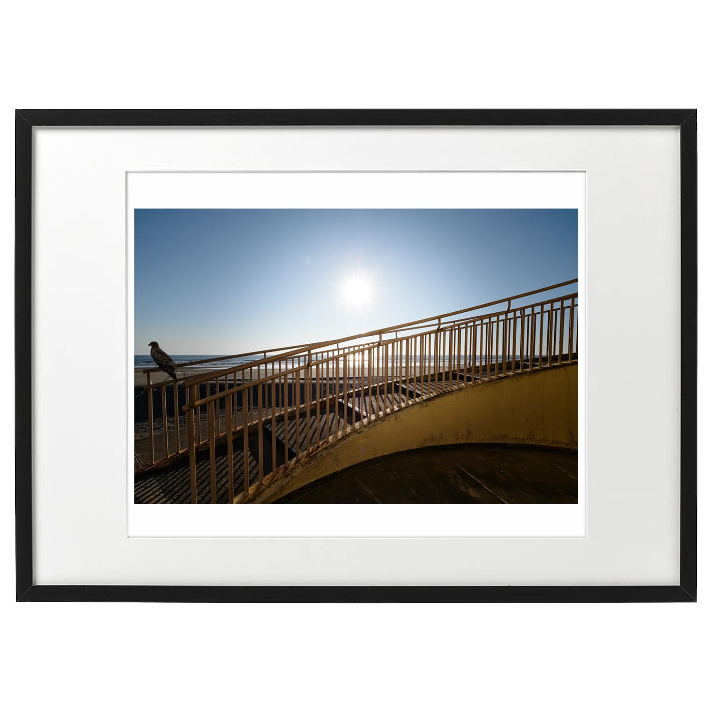 額装海景 20-036 Milvusと海と階段