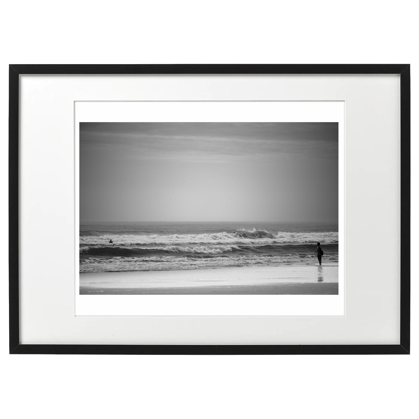 フレーム海景 20-030 朝の波