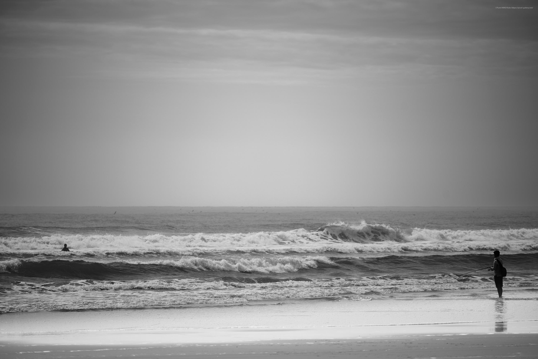 海景 20-030 朝の波