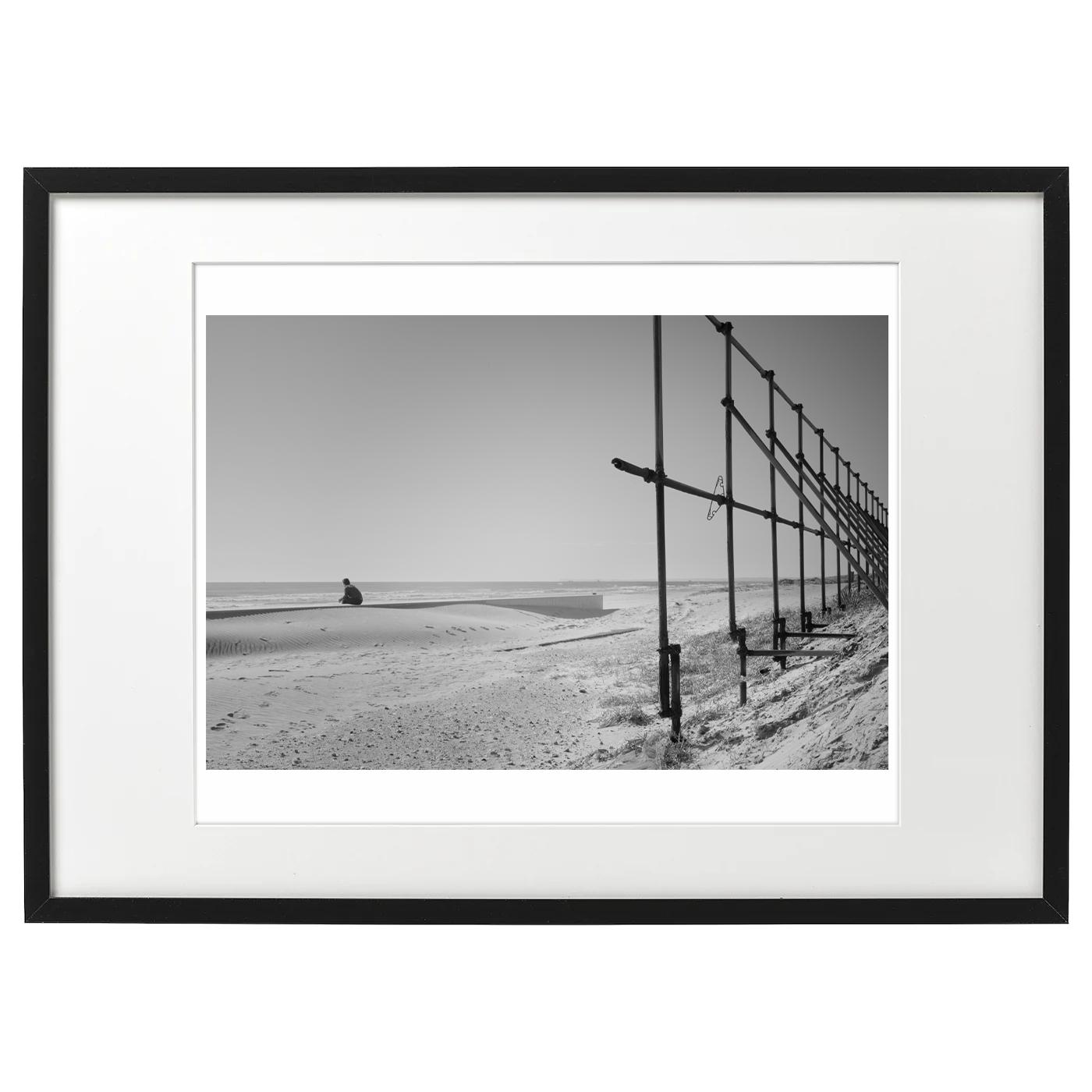 額装海景 20-043 Winter Light